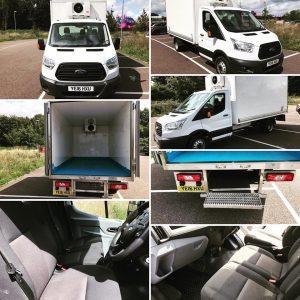 Ford Refrigerated box van by London Van Sales