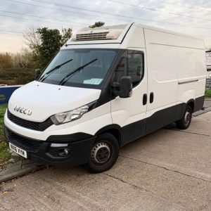 Iveco Daily refrigerated van. Used condition in white