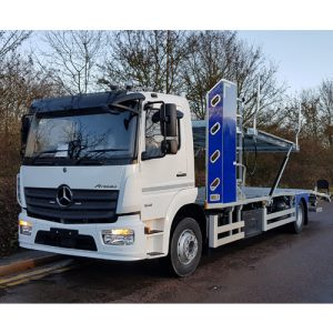 Mercedes Atego 3 plus 1 car transporter
