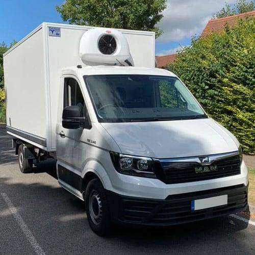 MAN Refrigerated Box Van from London Van Sales
